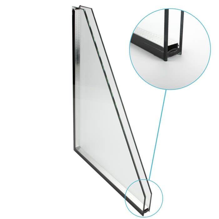 Dubbel glas standaard