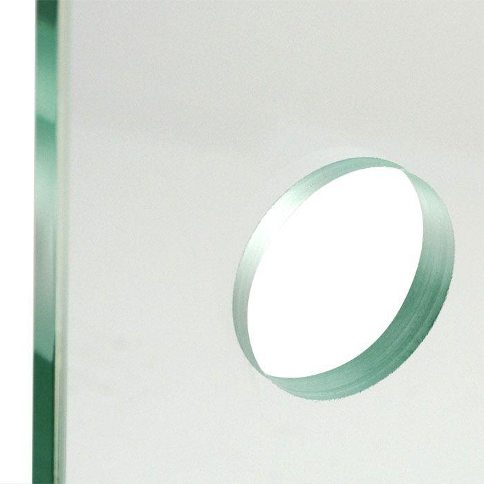 Schuifdeur gesloten rail en master-carre glas
