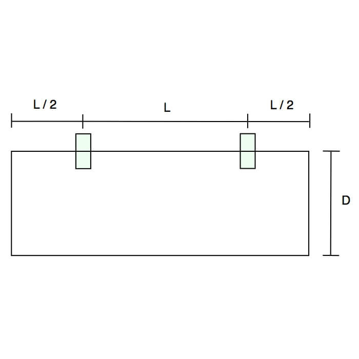 Glasplaatdrager GPD13