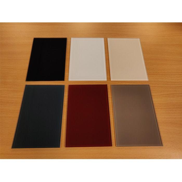 Gekleurd glas (Lacobel-T)