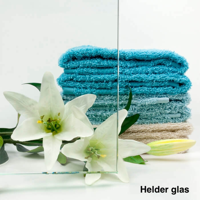 Taatsdeur op maat XL van helder glas