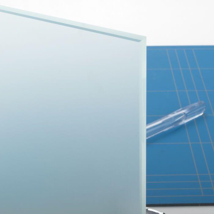 Mat glas (Satijn glas) 10mm