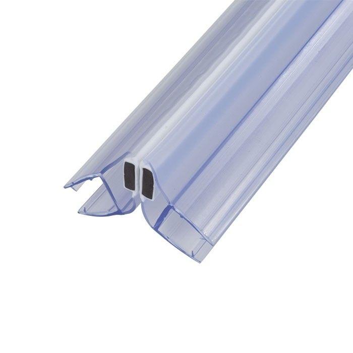 Magneetstrip met schuine hoek 135º enkelwerkend