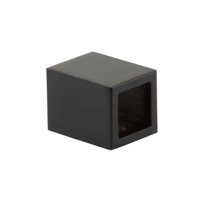 Wand / plafond aansluiting zwart