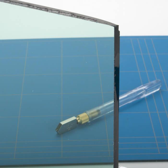 Glazen tafelblad gekleurd glas